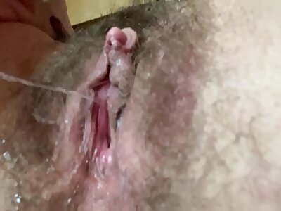 pussy cum pill down to my pulsating asshole as i came fast tormenting my big clit