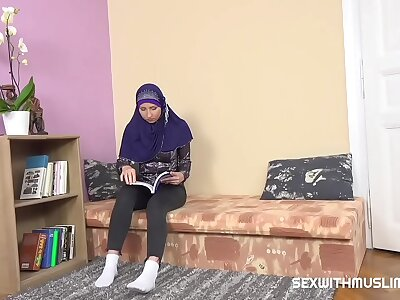 Sexy muslim teacher gives special duty