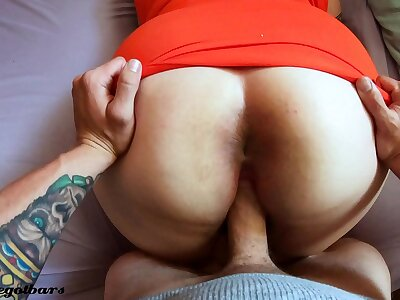 (4k) anal creampie BIG Botheration doggystyle POV on touching bbw sickly girl @Andregotbars