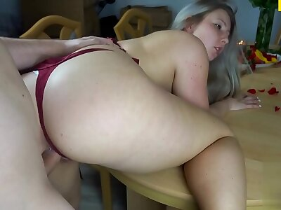 German bbw fucked after a star-gazer r�le