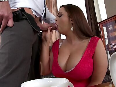 Take charge BBW Sirale gets Stuffed Hard & Titty Fucked