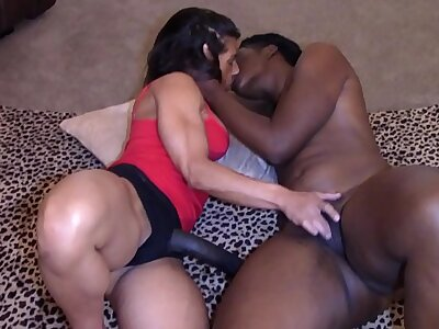 Treacherous Beauty on touching Big Booty fucked (Interracial)