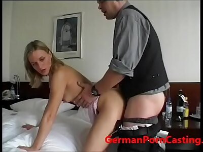 Roleyplay Approximately A German MILF During Casting - GermanPornCasting.com