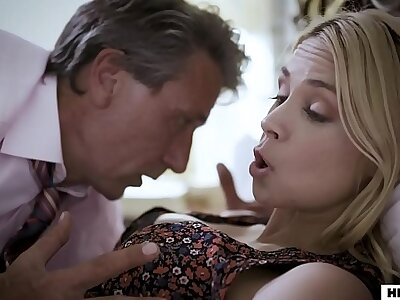 Pathetic step dad fucks his wed with the addition of step son round succession - Sarah Vandella with the addition of Elena Koshka